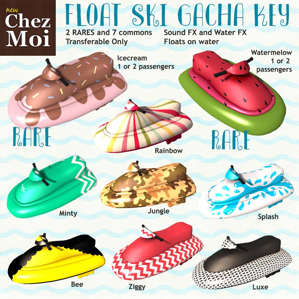 Float Ski Gacha CHEZ MOI