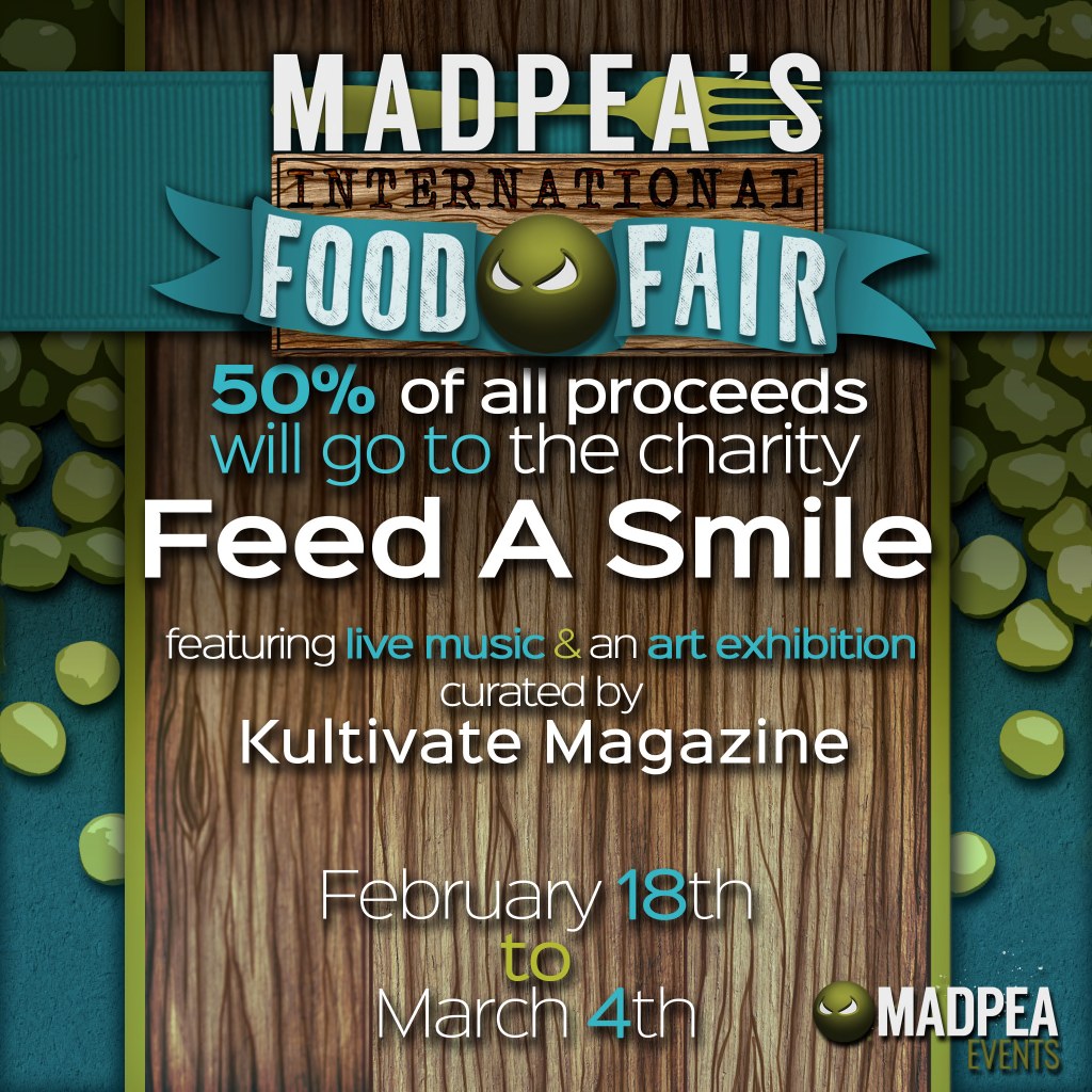 Madpea International Food Fair (Teaser Poster)
