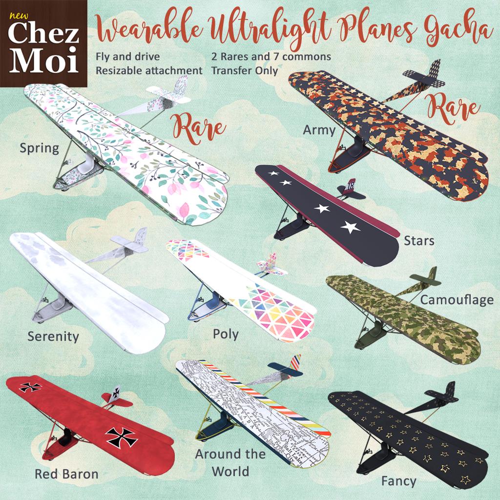 Ultralight Plane Gacha CHEZ MOI