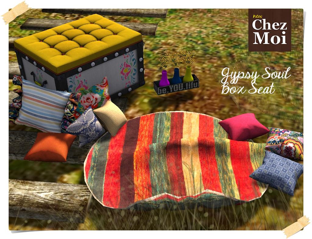 Gypsy Box Seat CHEZ MOI