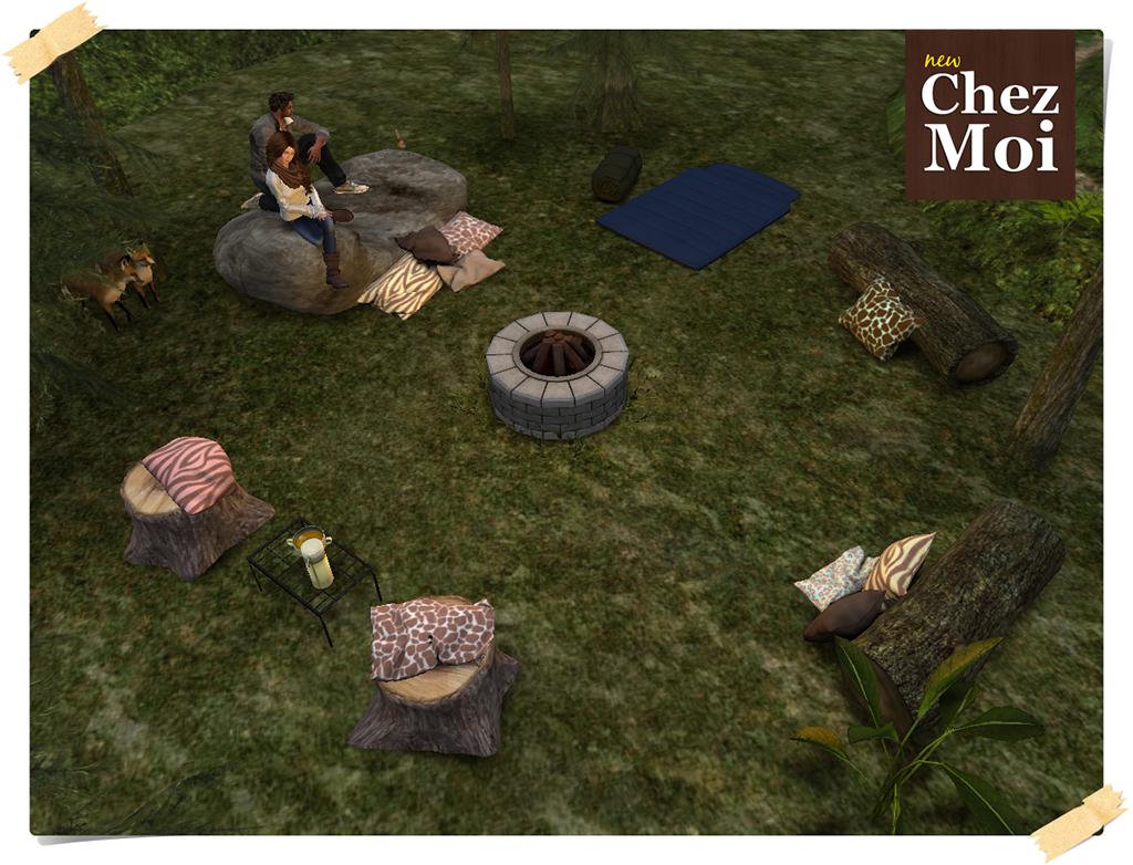 Luau Campfire Jungle CHEZ MOI
