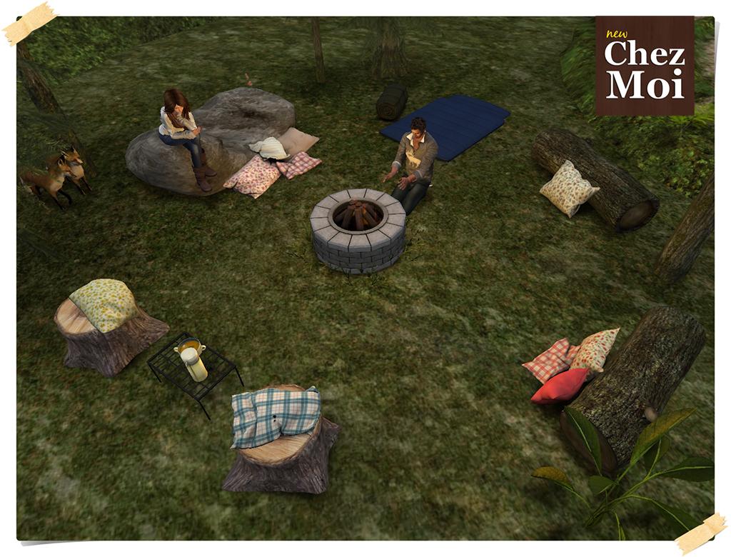 Luau Campfire Rosy CHEZ MOI
