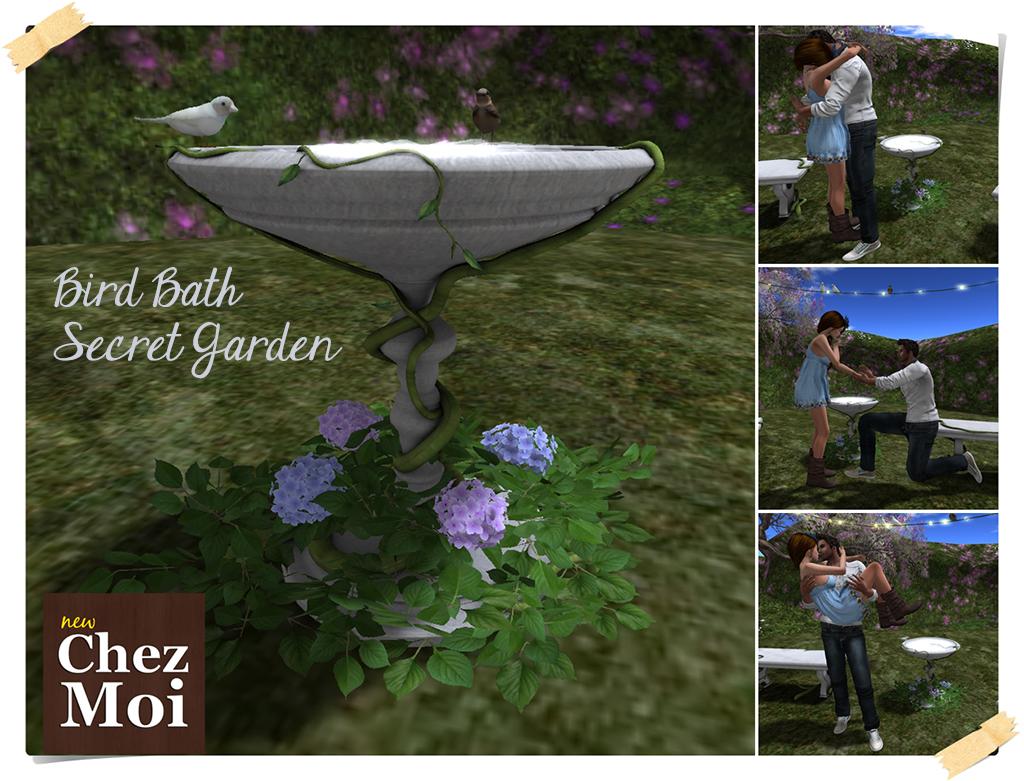 Secret Garden Bird Bath Main 2 CHEZ MOI