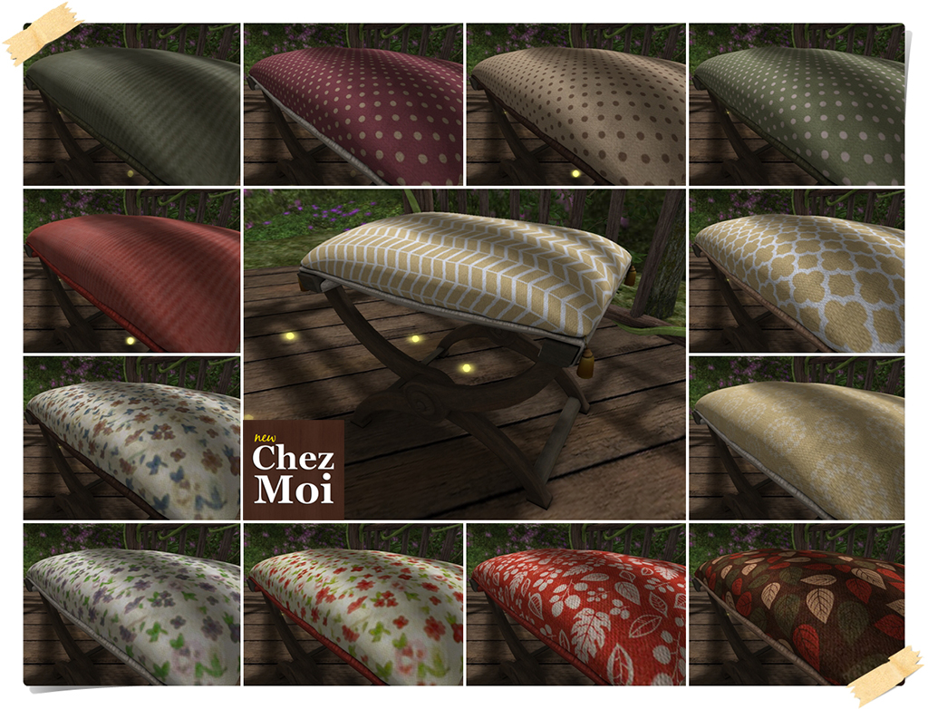 Secret Garden Chair Colors CHEZ MOI