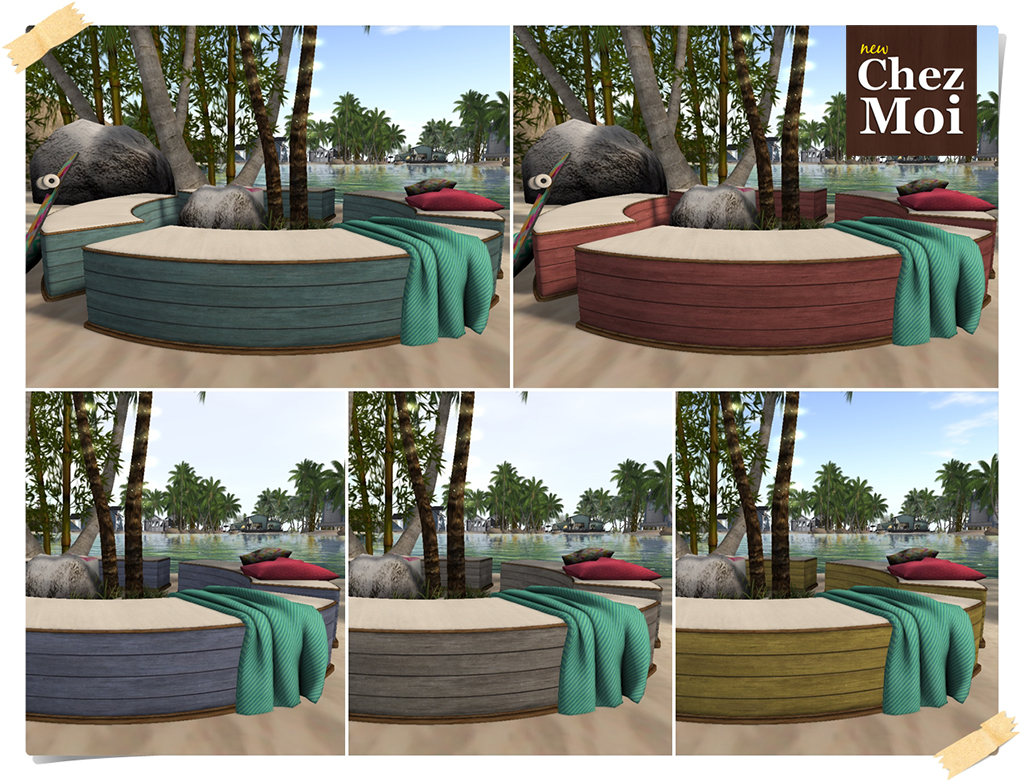 beachfront benches 6a