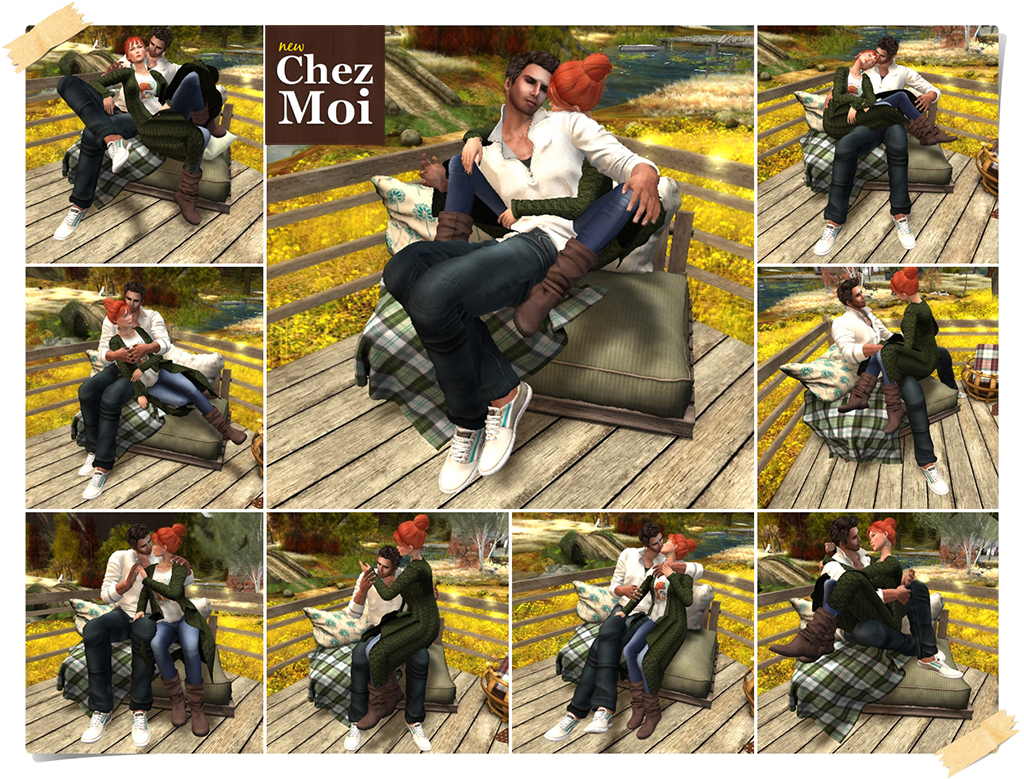 Douillet Couch 1 Seat Poses 3 CHEZ MOI