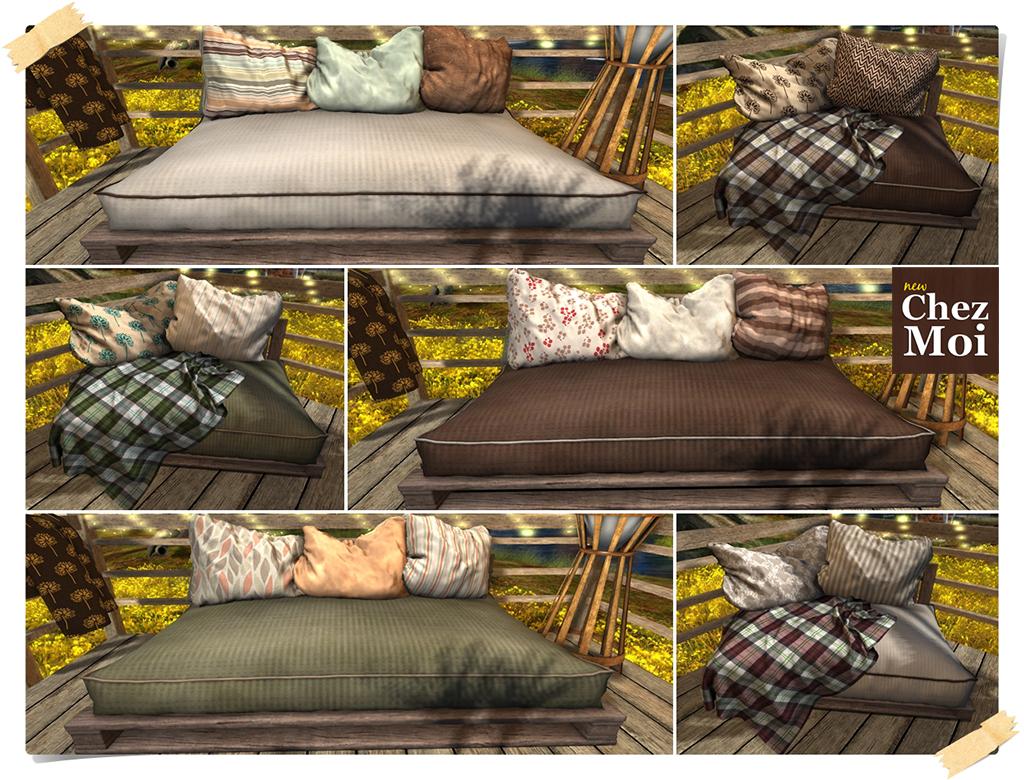 Douillet Couch Colors CHEZ MOI