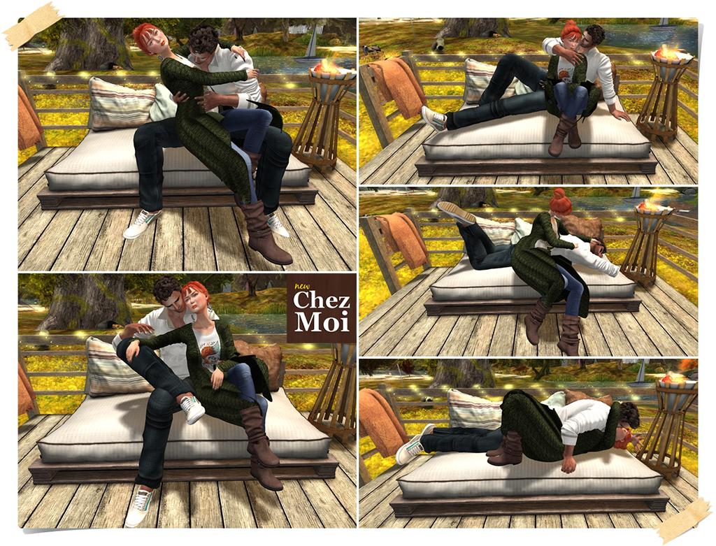 Douillet Couch Pose 2 CHEZ MOI