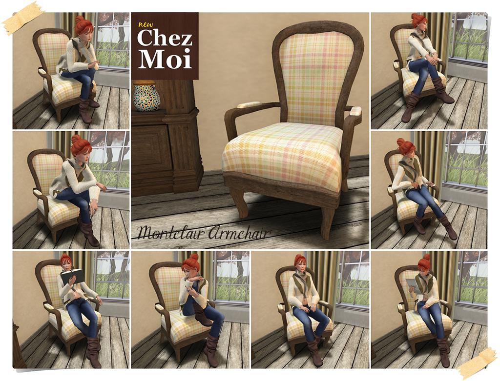 Montclair Armchair CHEZ MOI