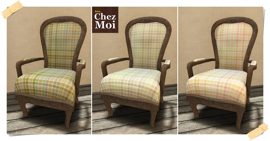 Montclair Armchair Colors CHEZ MOI