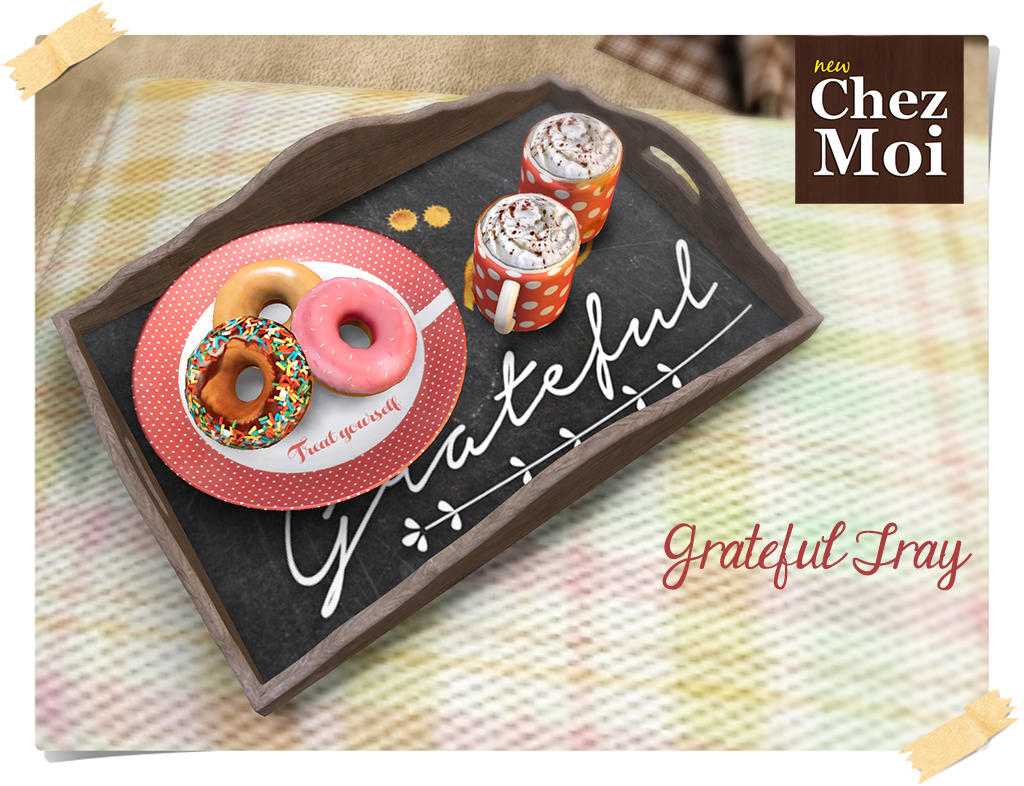 Montclair Grateful Tray CHEZ MOI