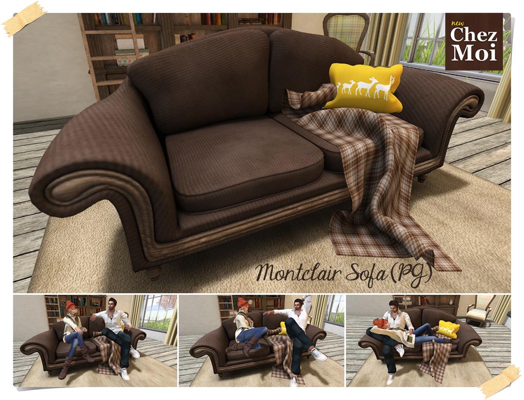 Montclair Sofa PG CHEZ MOI