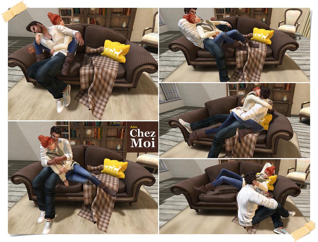 Montclair Sofa Pose 2 CHEZ MOI