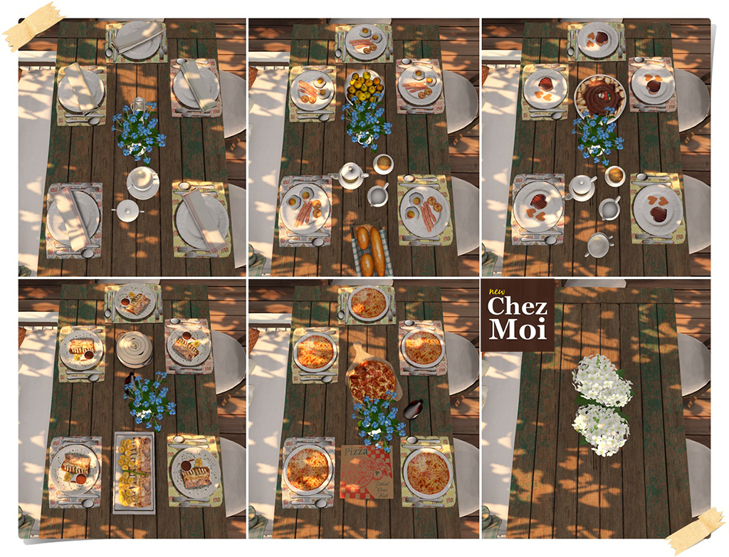 Shabby Table Dishes 1 CHEZ MOI