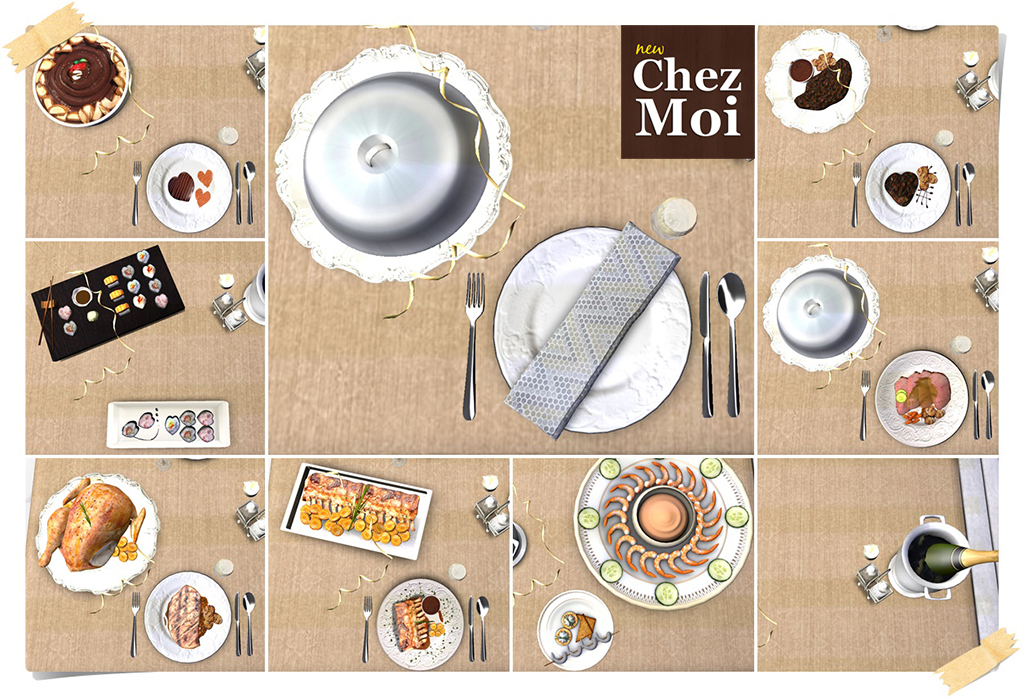 Let's Celebrate Dishes CHEZ MOI