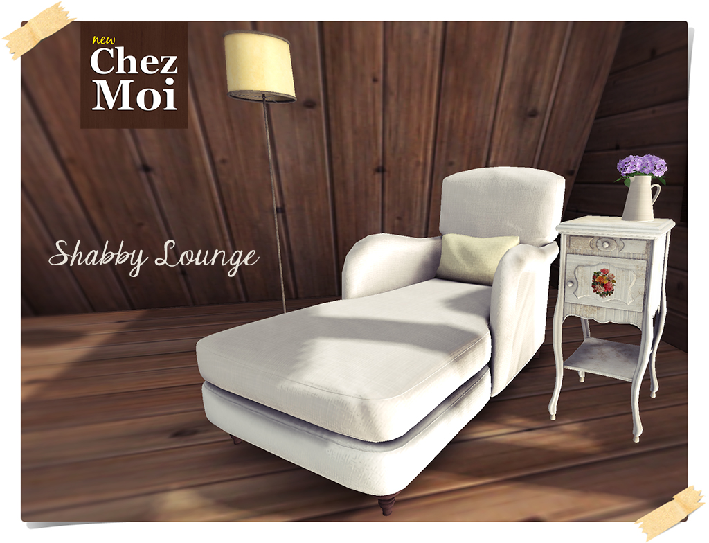 shabby lounge chez moi chez moi. Black Bedroom Furniture Sets. Home Design Ideas