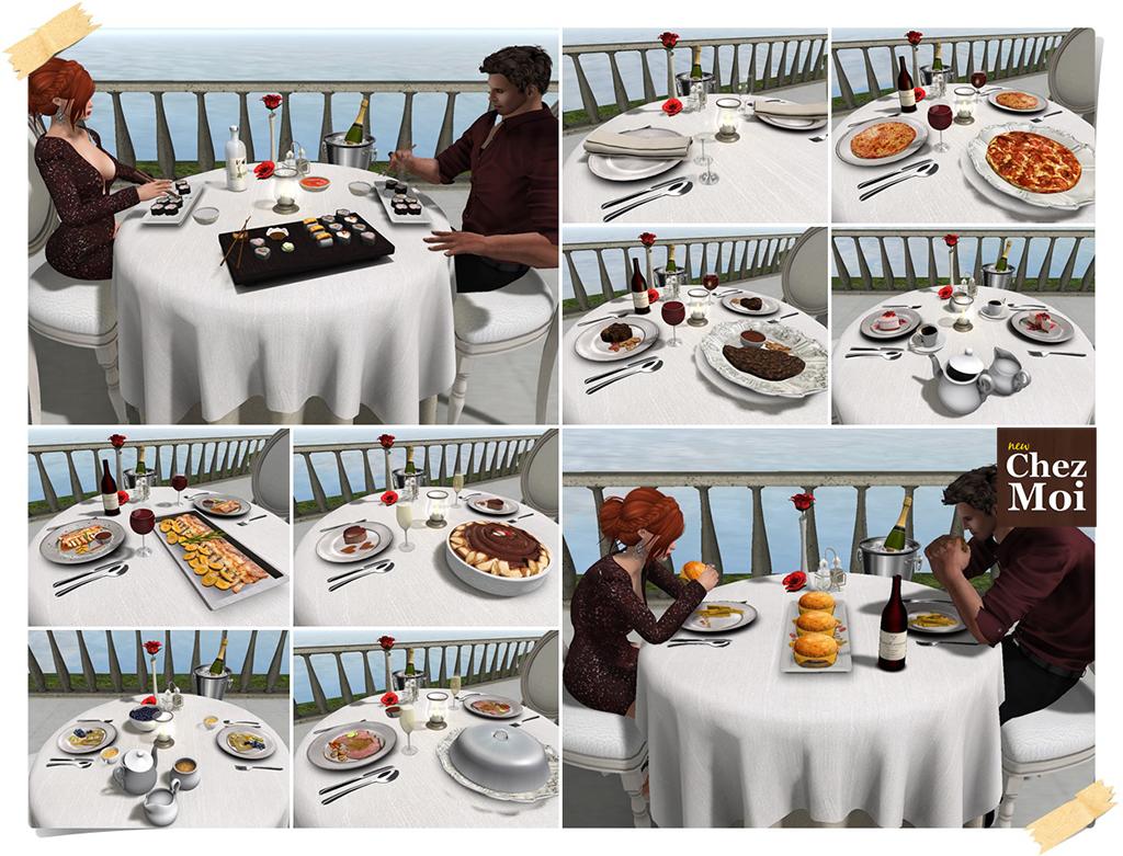 Romantique Dishes CHEZ MOI