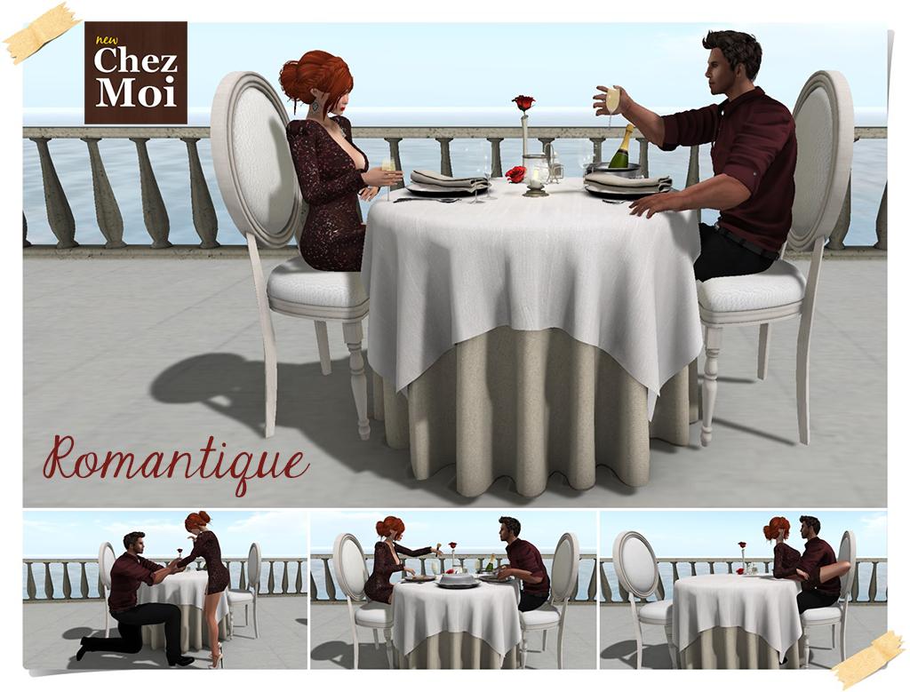 Romantique Main CHEZ MOI