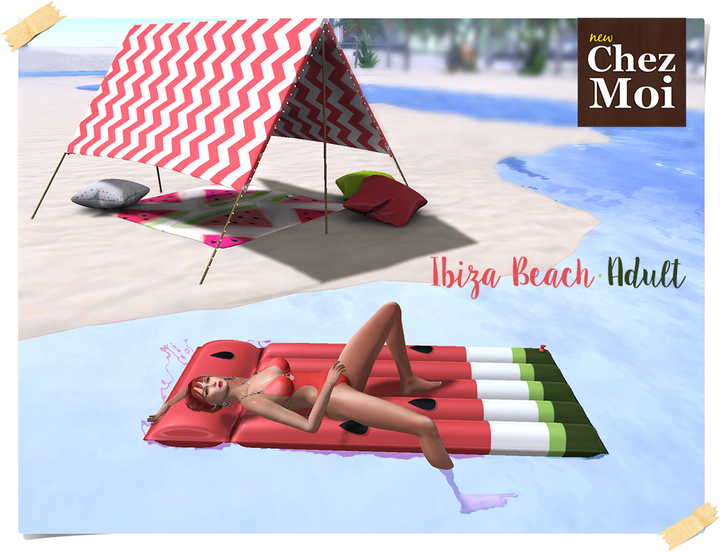 Ibiza Beach Adult CHEZ MOI