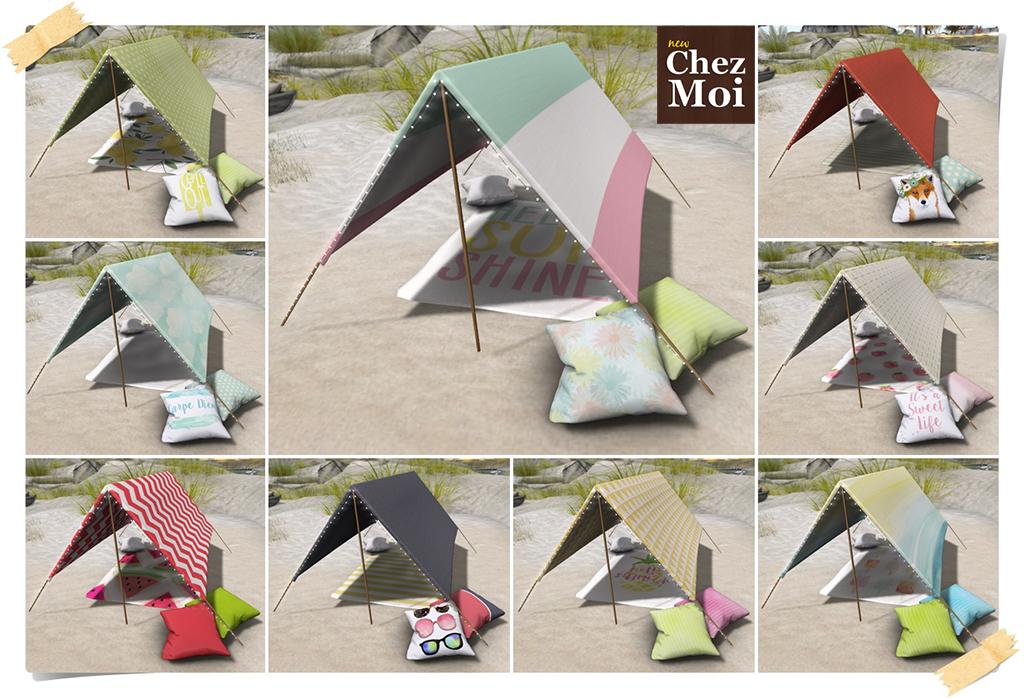 Ibiza Beach Tend Colors CHEZ MOI