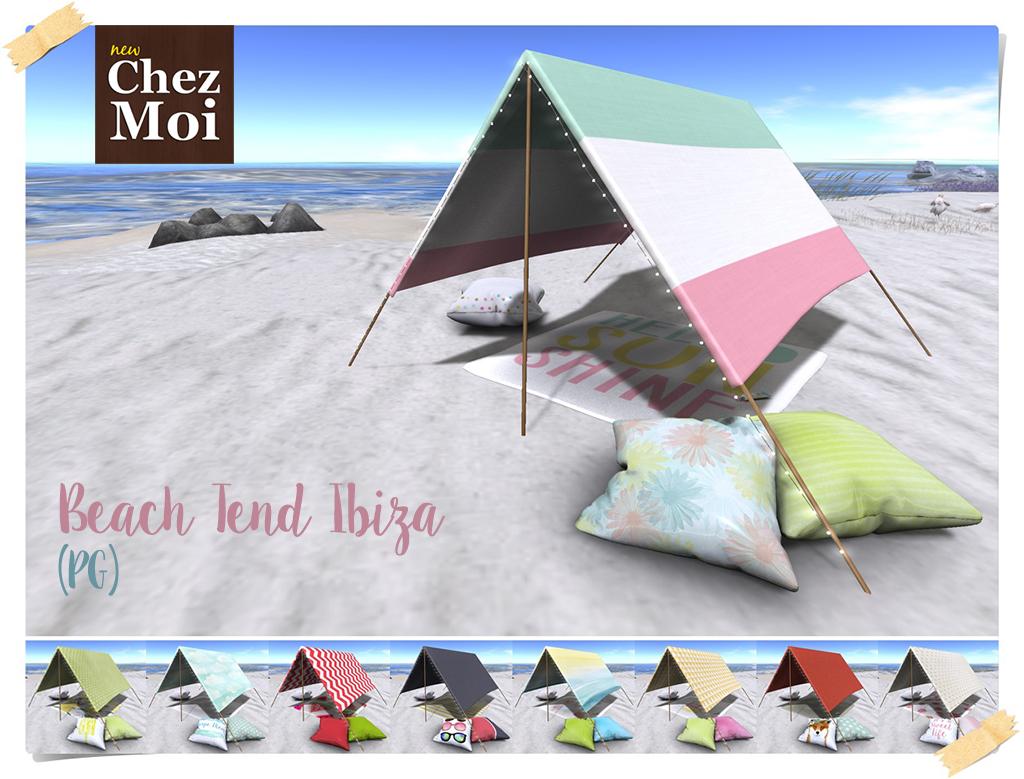 Ibiza Beach Tend PG CHEZ MOI