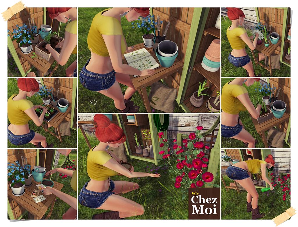 Garden Shed Garden Poses CHEZ MOI