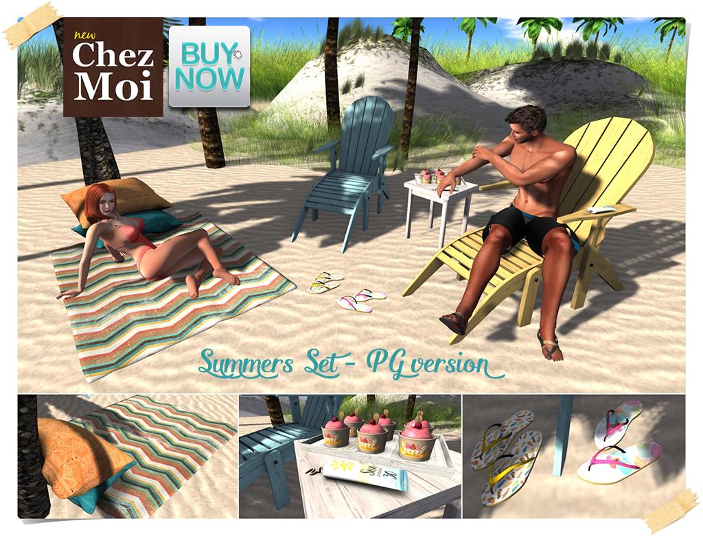 Summers Set PG BN CHEZ MOI