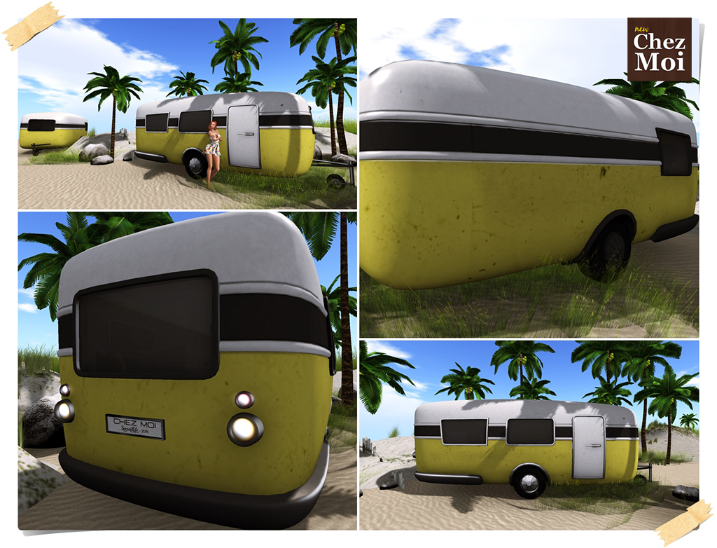 Caravan Canary Detalhes CHEZ MOI