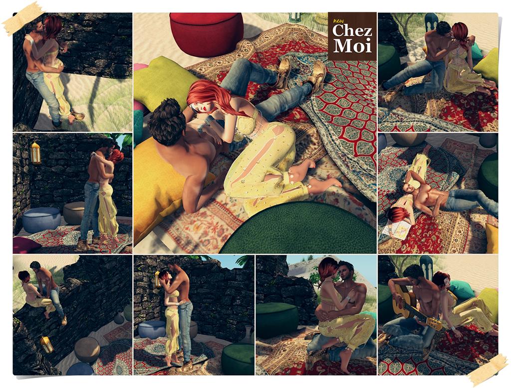 Moroccan Dreams Couple Poses CHEZ MOI