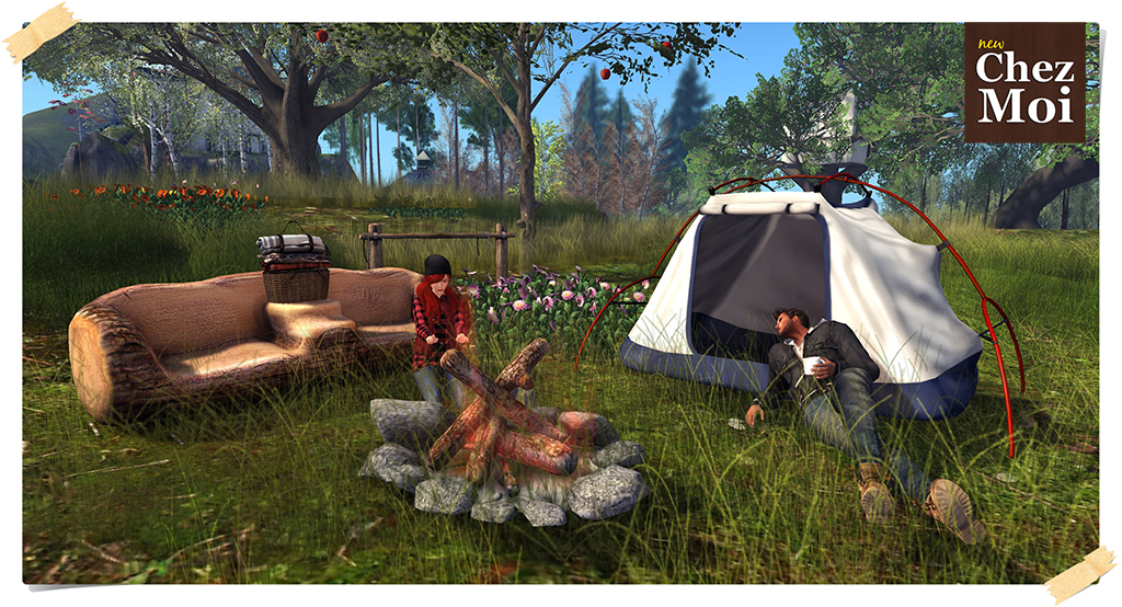 Camping Fun Pic L CHEZ MOI