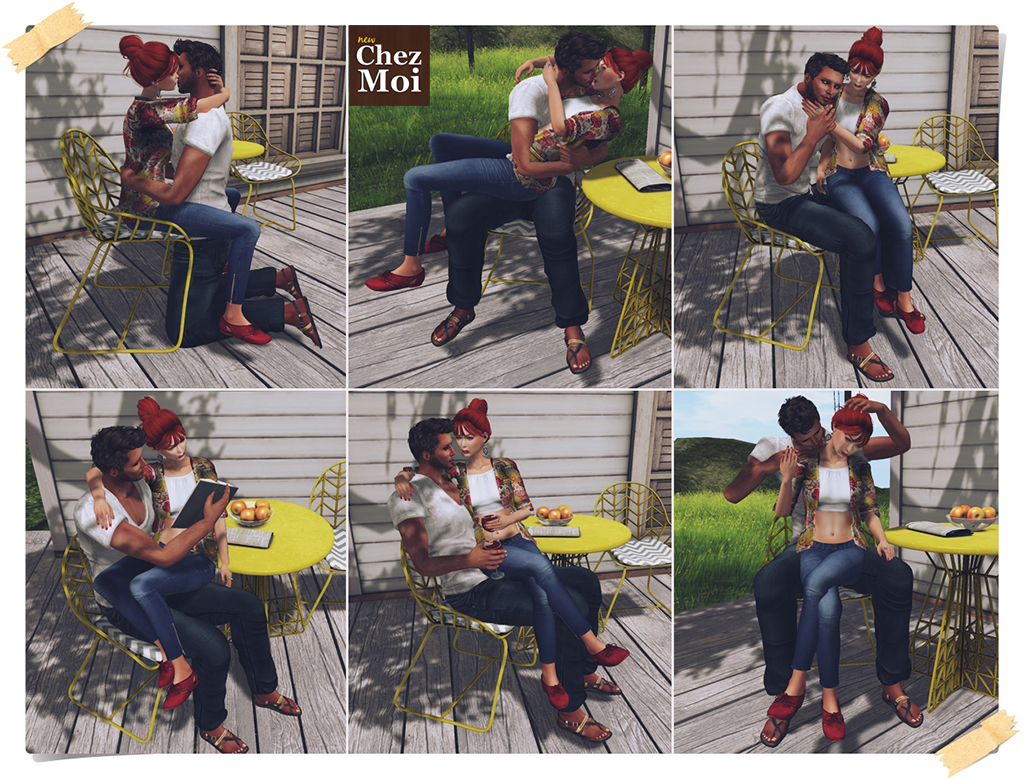 Patio Set Simply Wired Couple Poses CHEZ MOI