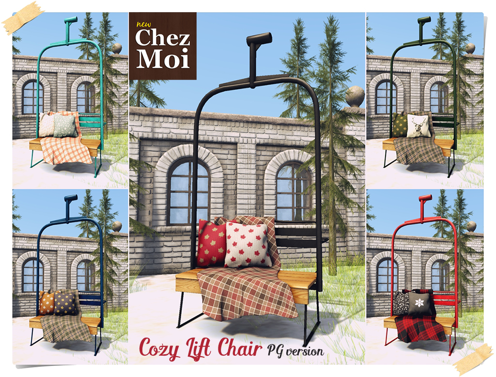 Cozy Chair Lift PG CHEZ MOI