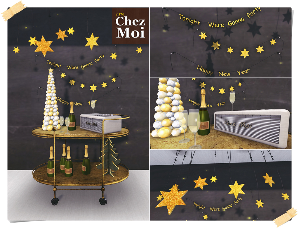 Happy New Year Details CHEZ MOI