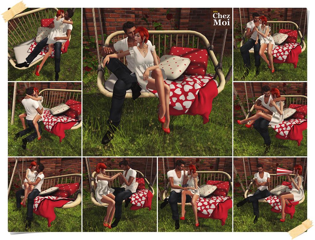 Rustic Swing Douceur Couple Poses CHEZ MOI
