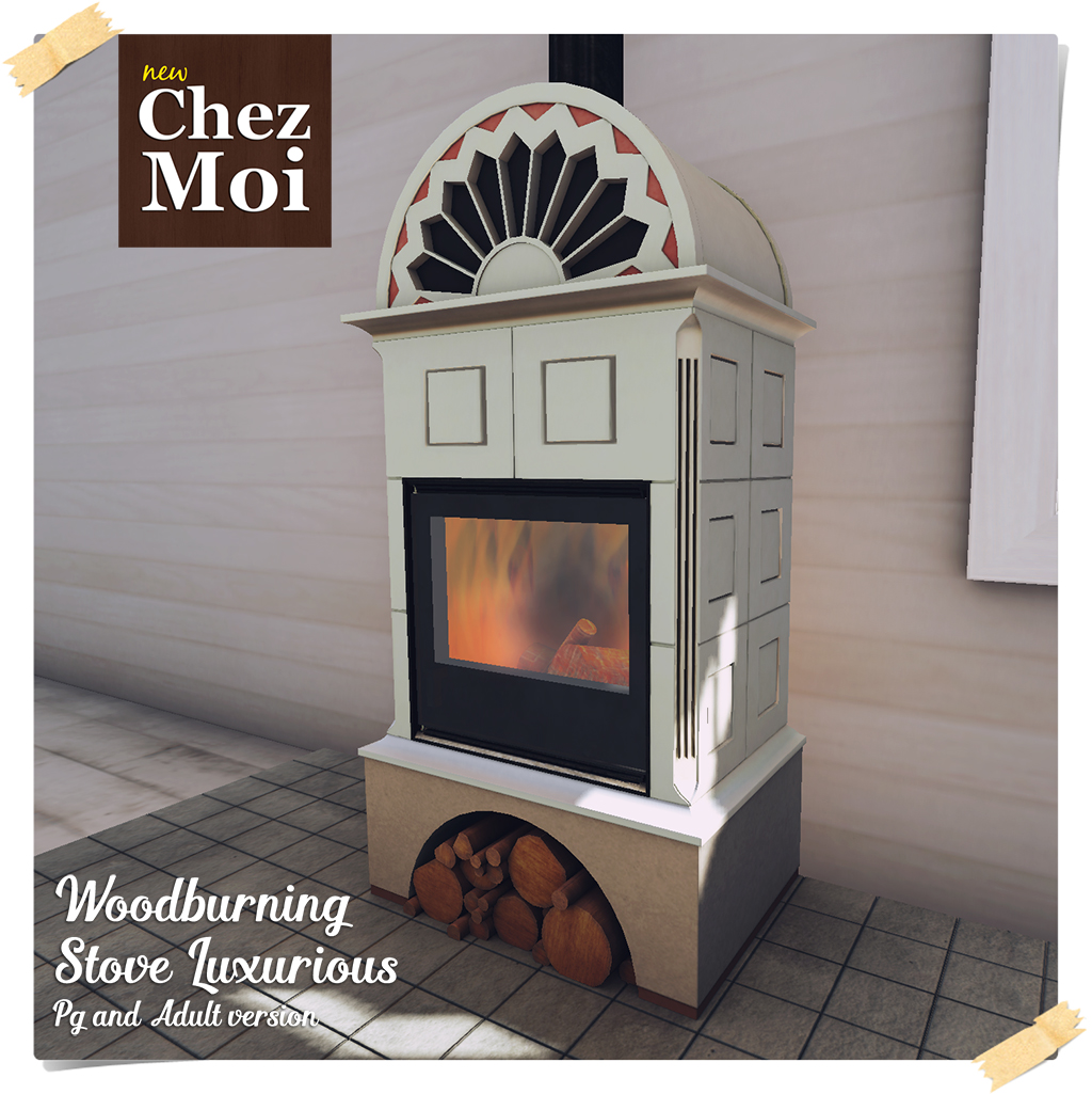 Woodburning Stove Luxurious CHEZ MOI