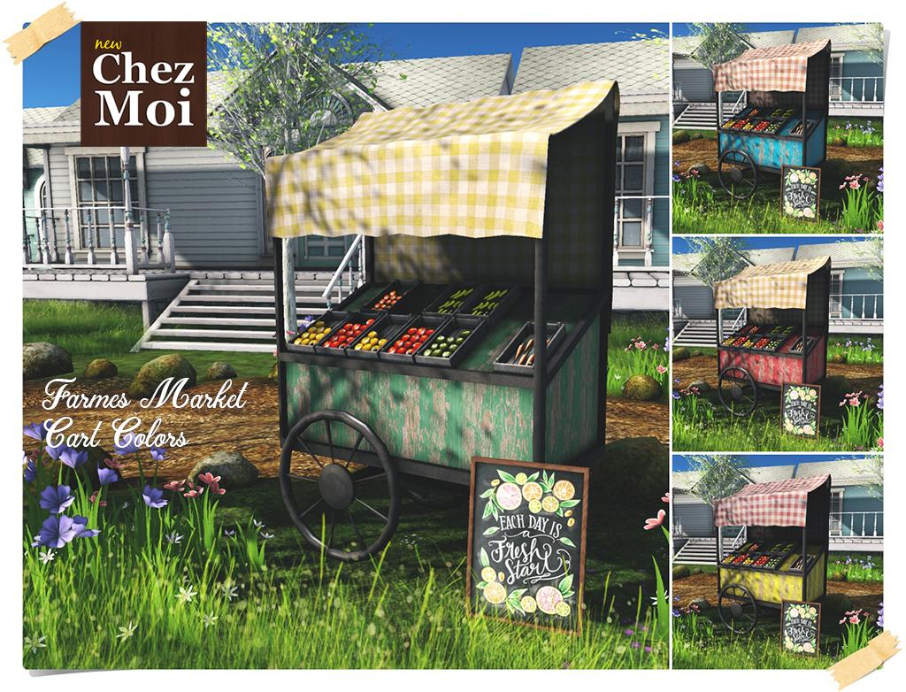 Farmers Market Color CHEZ MOI