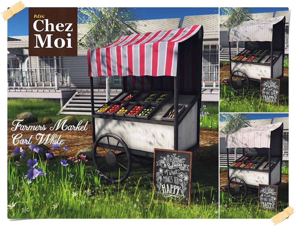 Farmers Market White CHEZ MOI