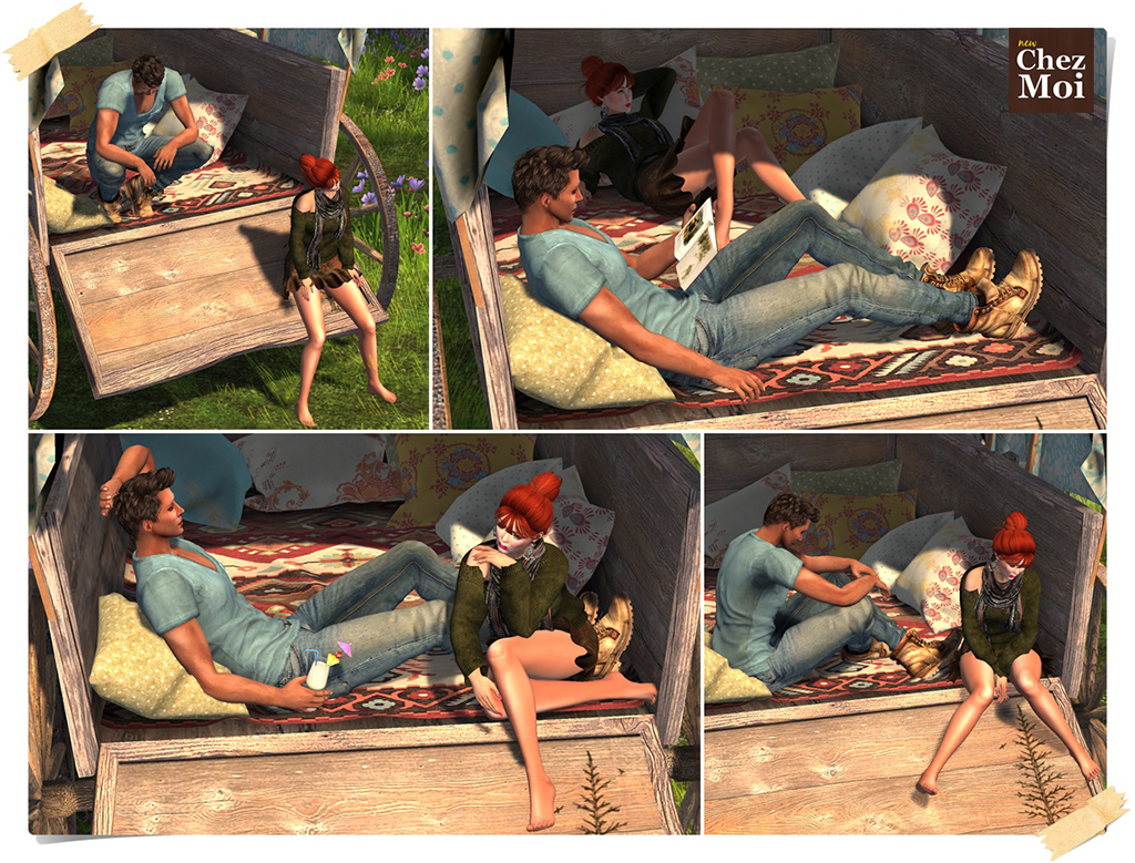 Boho Wagon Single Poses CHEZ MOI