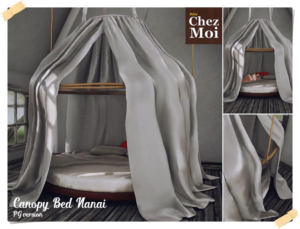 Canopy Bed Nanai PG CHEZ MOI