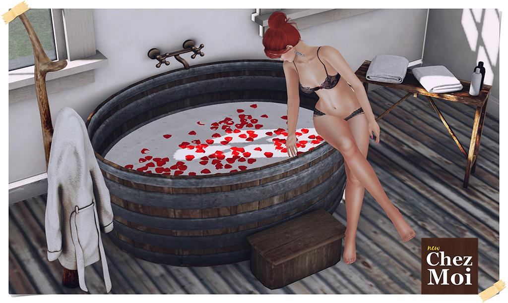 Rustic Bathroom Pic L CHEZ MOI
