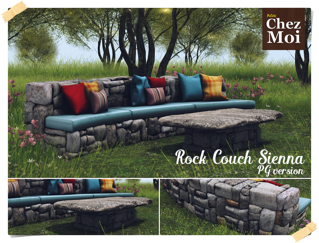 Rock Couch Sienna PG CHEZ MOI