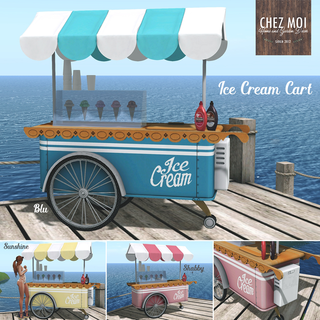 Icecream Carts Squared CHEZ MOI