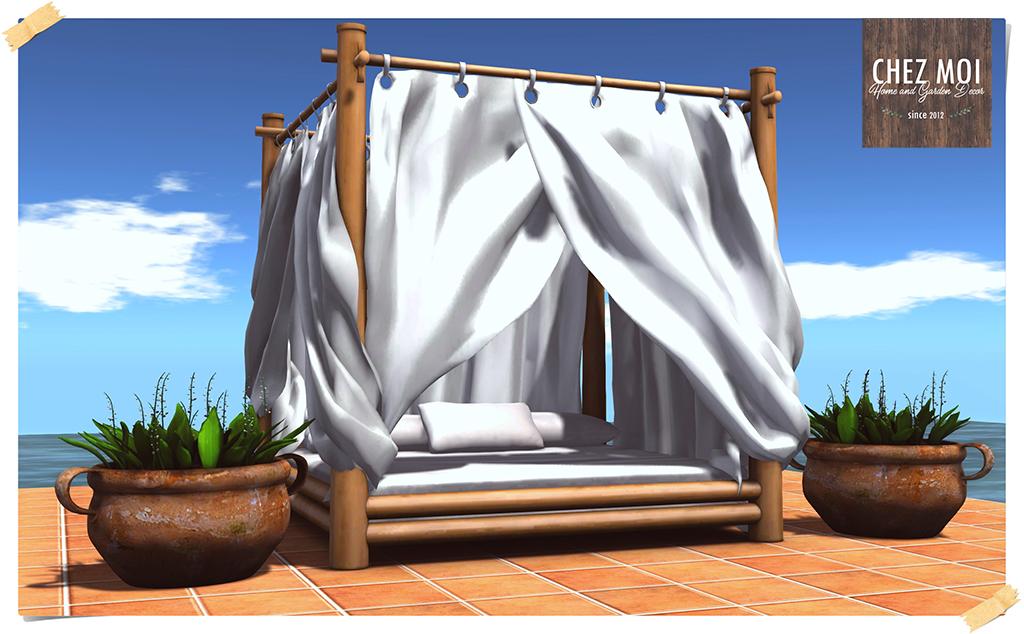 Outdoor Bed Nanai Pic L CHEZ MOI