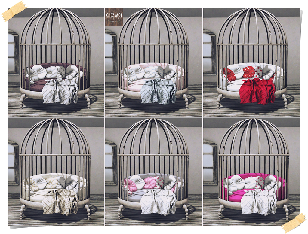 Cage Bed Colors CHEZ MOI