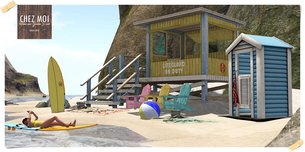 Gacha Beach Day Pic L CHEZ MOI