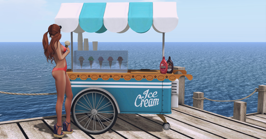 Ice Cream Cart CHEZ MOI