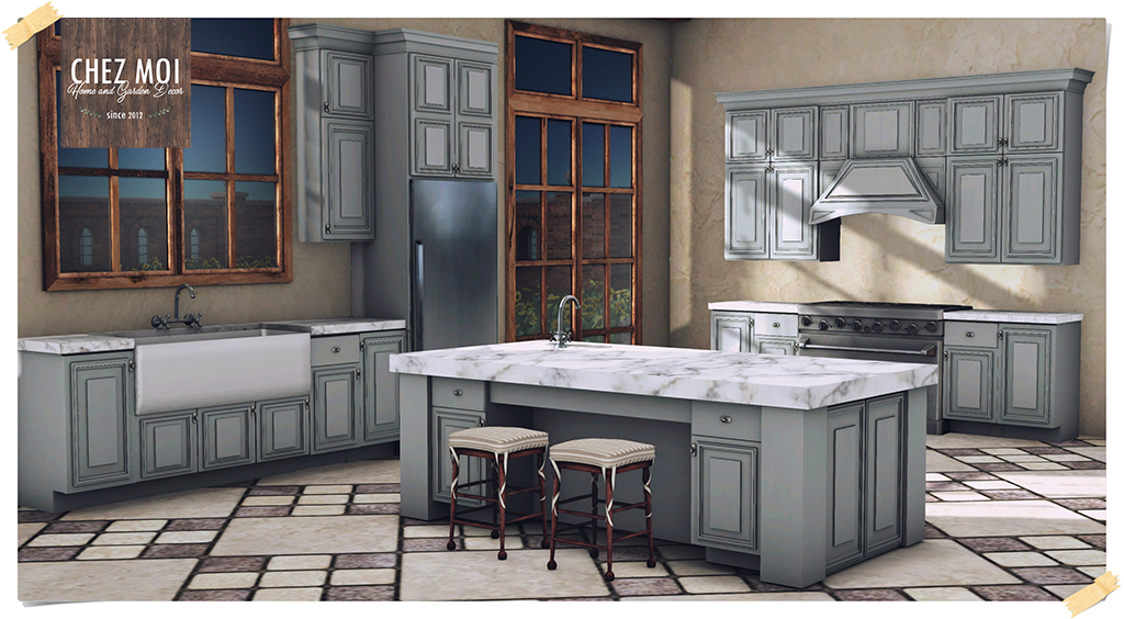 The Sink With Cabinets Has Room For 1 U2013 2 People ♥ 2 Individual Animations  (wash Dish And Wash Sink) ♥ 2 Couple Poses (2 X 1)