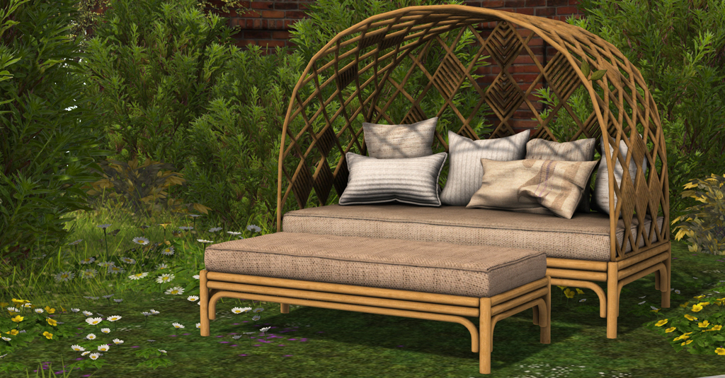 Havanna Wicker Couch