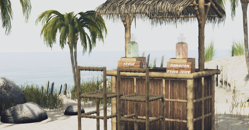 Hawaiian Tiki Bar