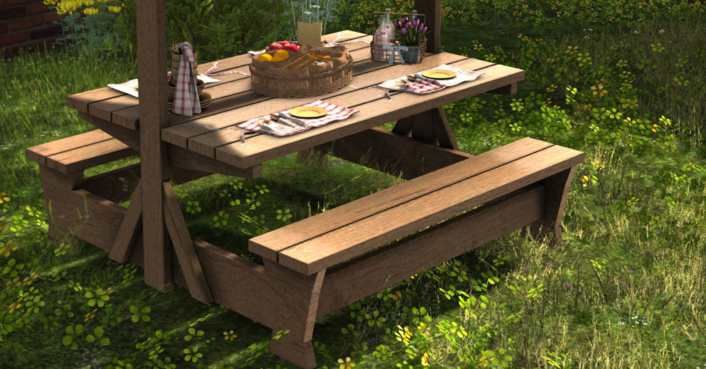 Applewood Picnic Table